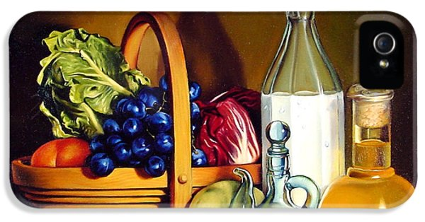 Still Life In Oil IPhone 5 Case by Patrick Anthony Pierson
