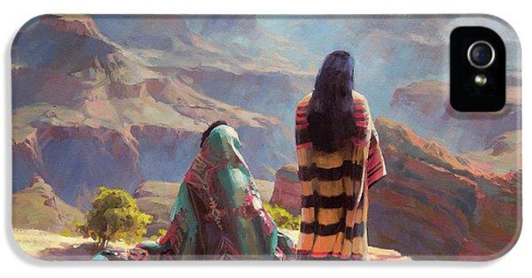 Grand Canyon iPhone 5 Case - Stillness by Steve Henderson