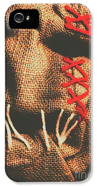 Stitched Up Madness IPhone 5 Case by Jorgo Photography - Wall Art Gallery