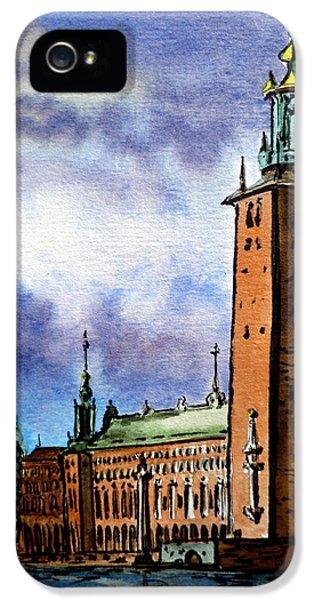 Stockholm Sweden IPhone 5 Case