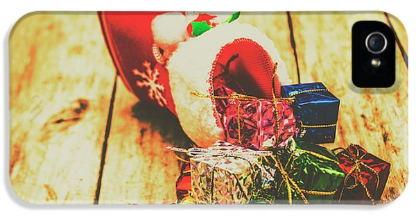 Stocking Up For Christmas IPhone 5 / 5s Case by Jorgo Photography - Wall Art Gallery