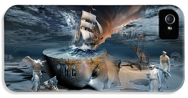 Stormbringer IPhone 5 Case by George Grie