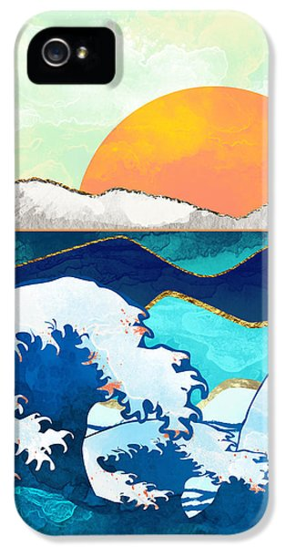 Landscapes iPhone 5 Case - Stormy Waters by Spacefrog Designs