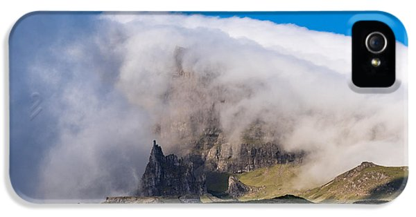 IPhone 5 Case featuring the photograph Storr In Cloud by Gary Eason