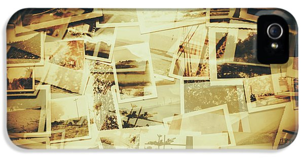 Storyboard Of Past Memories IPhone 5 Case by Jorgo Photography - Wall Art Gallery