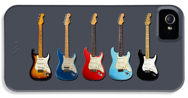 Guitar iPhone 5 Case - Stratocaster by Mark Rogan