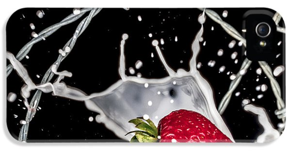 Strawberry Extreme Sports IPhone 5 Case by TC Morgan