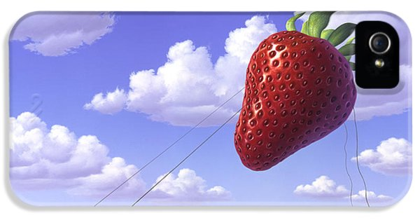 Strawberry Field IPhone 5 Case by Jerry LoFaro