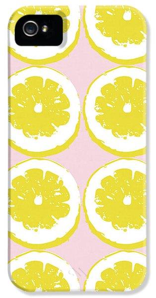 Strawberry Lemonade- Art By Linda Woods IPhone 5 Case by Linda Woods