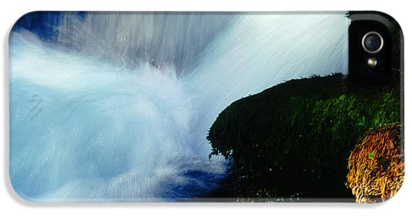IPhone 5 Case featuring the photograph Stream 5 by Dubi Roman
