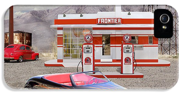 Street Rod At Frontier Station 2 IPhone 5 Case by Mike McGlothlen