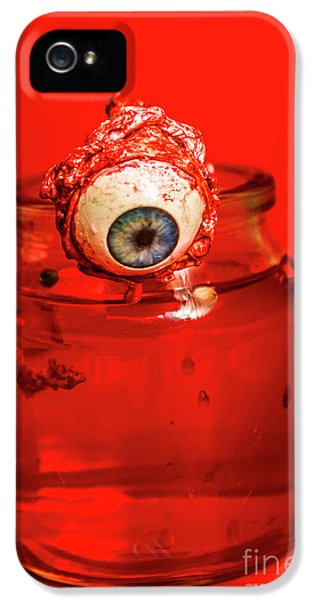 Eyeball iPhone 5 Case - Subject Of Escape by Jorgo Photography - Wall Art Gallery