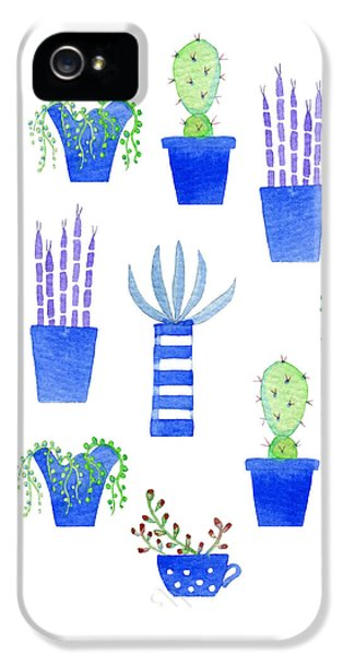 Succulents IPhone 5 Case by Nic Squirrell