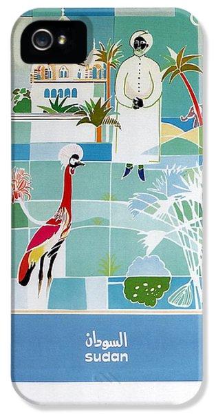 Emu iPhone 5 Case - Sudan - Kuwait Airways Corporation - Kuwait - Retro Travel Poster - Vintage Poster by Studio Grafiikka
