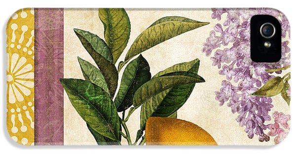 Grapefruit iPhone 5 Case - Summer Citrus Lemon by Mindy Sommers