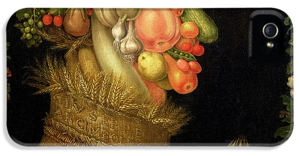 Summer IPhone 5 Case by Giuseppe Arcimboldo