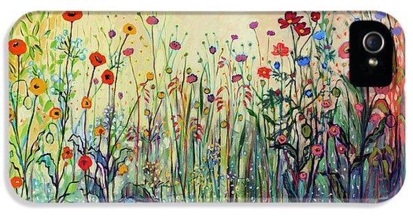 Floral iPhone 5 Case - Summer Joy by Jennifer Lommers