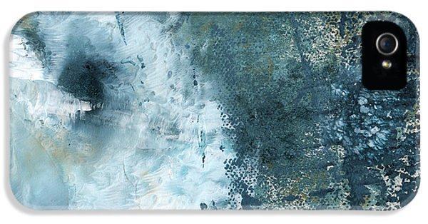 Summer Storm- Abstract Art By Linda Woods IPhone 5 Case by Linda Woods