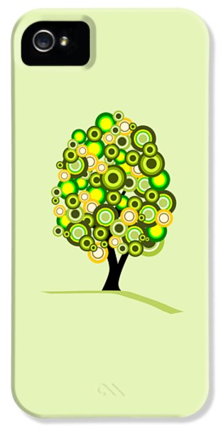 Garden iPhone 5 Case - Summer Tree by Anastasiya Malakhova