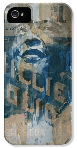 Rhythm And Blues iPhone 5 Case - Summertime by Paul Lovering