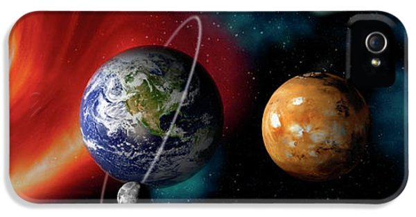 Sun And Planets IPhone 5 Case