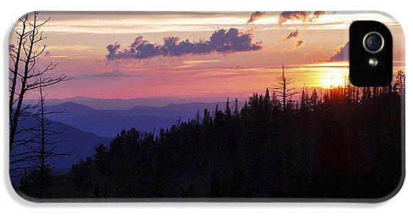Sun Over Cedar IPhone 5 Case
