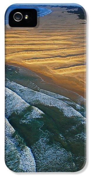Sun Rise Coast  IPhone 5 Case by Skip Hunt
