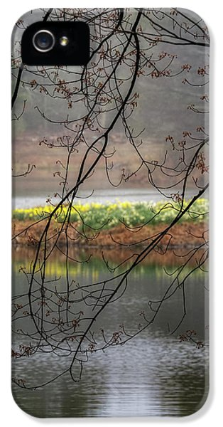 IPhone 5 Case featuring the photograph Sun Shower by Bill Wakeley