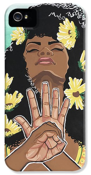 Sunflowers And Dashiki IPhone 5 Case