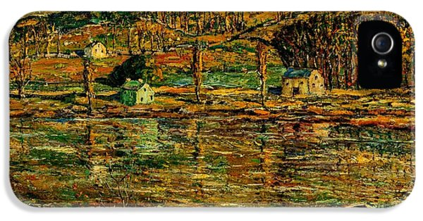 Sunlight On The Harlem River 1919 IPhone 5 Case