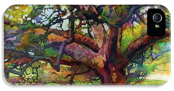Sunlit Century Tree IPhone 5 Case