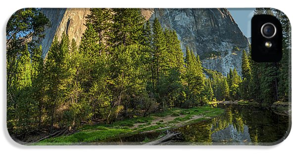Sunrise On El Capitan IPhone 5 Case by Peter Tellone
