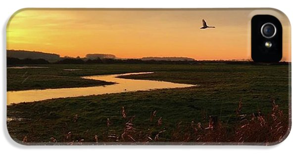 iPhone 5 Case - Sunset At Holkham Today  #landscape by John Edwards
