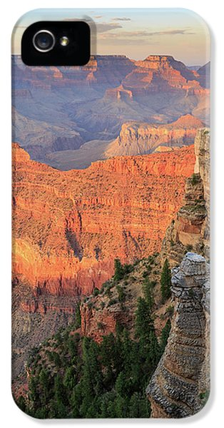 IPhone 5 Case featuring the photograph Sunset At Mather Point by David Chandler