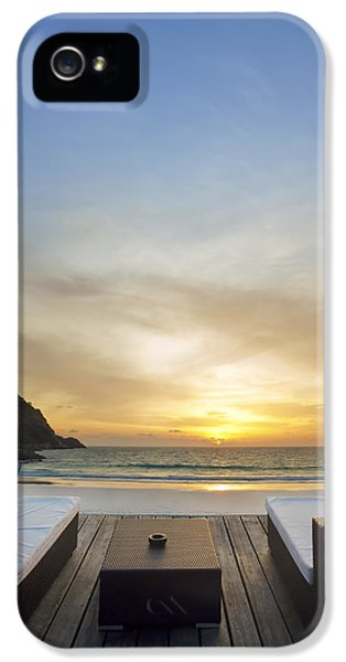 Wait iPhone 5 Cases - Sunset Beach iPhone 5 Case by Setsiri Silapasuwanchai