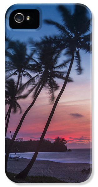 Sunset In Paradise IPhone 5 Case by Alex Lapidus