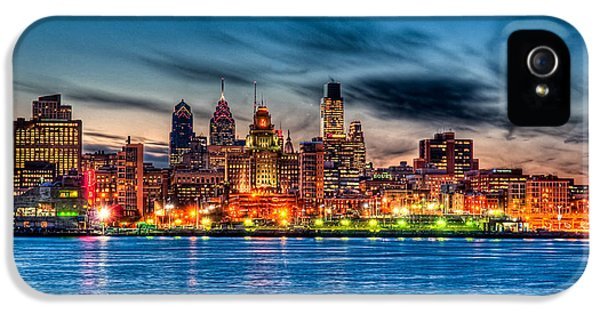 Sunset Over Philadelphia IPhone 5 Case