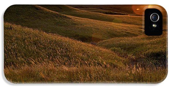 Sunset Over The Kansas Prairie IPhone 5 Case