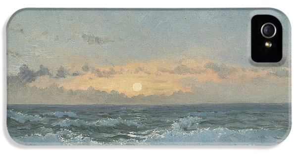 Dorset iPhone 5 Case - Sunset Over The Sea by William Pye