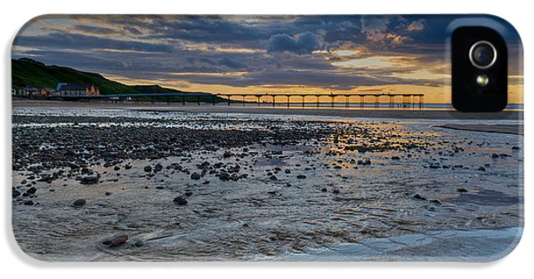 Sunset With Saltburn Pier IPhone 5 Case