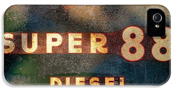 Oliver Tractor iPhone 5 Case - Super 88 Diesel by Olivier Le Queinec