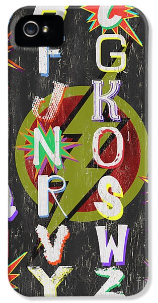Superhero Alphabet IPhone 5 Case