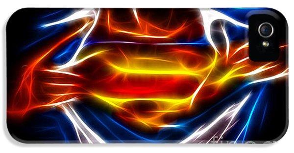 Superman IPhone 5 Case by Pamela Johnson