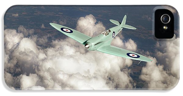 IPhone 5 Case featuring the photograph Supermarine Spitfire Prototype K5054 by Gary Eason