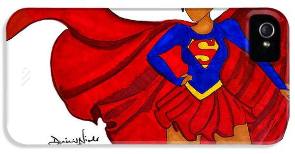 Superwoman I Am  IPhone 5 Case by Diamin Nicole