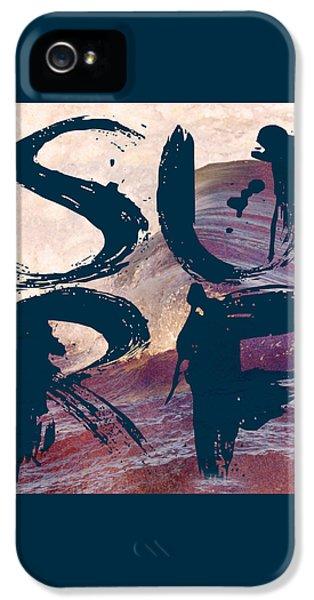 Surf V1 IPhone 5 Case by Brandi Fitzgerald