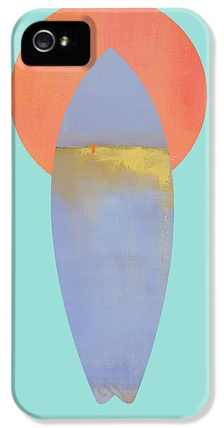 Surfboard Art Print IPhone 5 Case by Jacquie Gouveia