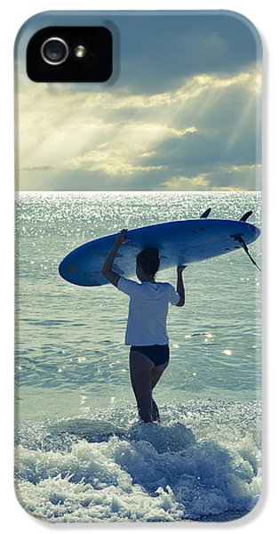 Beach iPhone 5 Case - Surfer Girl by Laura Fasulo