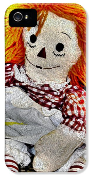 Surreal Raggedy Ann Painting IPhone 5 Case by Floyd Snyder