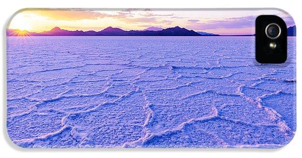 Desert iPhone 5 Case - Surreal Salt by Chad Dutson
